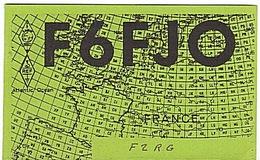 CARTE - RADIO - QSL - FRANCE - - Radio Amateur