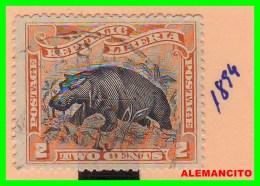 LIBERIA  REPUBLICA   SELLO  AÑO 1894 - Liberia