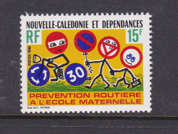 New Caledonia SG 639 1980 Road Safety MNH - Nouvelle-Calédonie