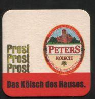 BIERDECKEL / BEER MAT / SOUS-BOCK : Peters Kölsch - Sous-bocks