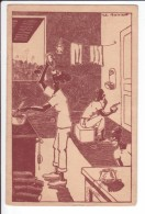 """CP N°7 (13,9 Cm X 9 Cm)  - Signé Boireau - En AFRIQUE : """"La Sauce Madère"""" - Humour"""