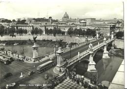 Roma (Lazio) Ponte Vittorio Emanuele, Victor Emanuel Bridge, Pont Victor Emmanuel, Thematic Stamp Poste Vaticane - Ponts