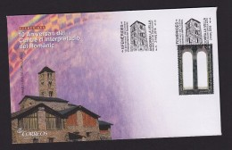 SPANISH ANDORRA 2016. FDC ROMAN ARCHITECTURE - Briefe U. Dokumente