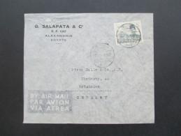 Ägypten 1939 Luftpost / Airmail. EF. G. Salapata & C. Alexandrie - Ägypten