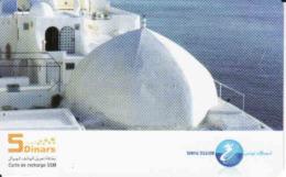 Tunisie, Recharge GSM 5 Dinars Card, - Tunisie