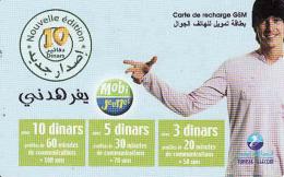Tunisie, Recharge GSM 10 Dinars Card, MObi Jeunes - Tunisie