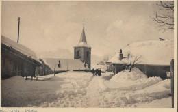 LEYSIN → L´Eglise En Hiver, Ca.1940 - VD Vaud