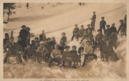 LEYSIN → Courses De Luges. Un Départ 1921 - VD Vaud