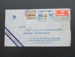 Guatemala 1938 MiF Flugpostbeleg Marken Mit Aufdruck! Stempel: Buzon 52 Guatemala - Guatemala