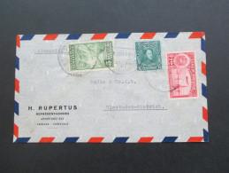 Venezuela 1939 MiF Flugpostbeleg Nach Wiesbaden! - Venezuela