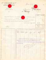 JARNAC S/ COGNAC FOUCHIER 1924 - Alimentaire
