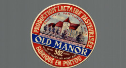 Etiquette De Fromage Camembert  OLD MANOR - Formaggio