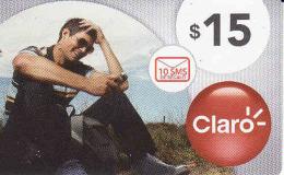 Argentina, TARJETA DE ARGENTINA DE CLARO ,prepago Card Nominal 15 $ - Argentina