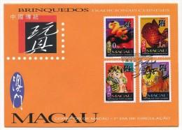 MACAO (Portugal) - 1 Enveloppe FDC - 1996 - Traditions Chinoises - Macau