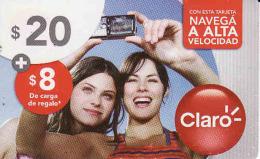 Argentina, TARJETA DE ARGENTINA DE CLARO ,prepago Card Nominal 20 $ - Argentina