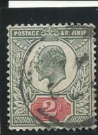 GRANDE-BRETAGNE: Obl., N°109, TB - 1902-1951 (Re)