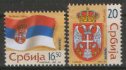 Serbia, 2006, Deffinitive - Flag And Coat Of Arms, MNH (**) - Serbia