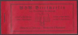 Fre_ Deutsches Reich - Markenheftchen Mi. Nr. MH 45 - Postfrisch MNH - Cuadernillos