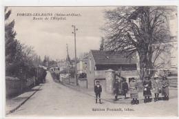 D 91. FORGES LES BAINS.   ROUTE DE L HOPITAL.  CPAA - France