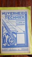Nijverheid En Techniek,maandblad,jan, Febr,1939, 34 Ste Jaargang Nr2 - Boeken, Tijdschriften, Stripverhalen
