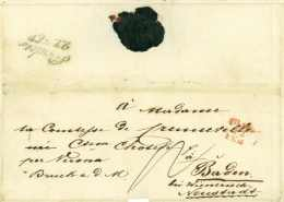 ERSTER ITALIENISCHER UNABHÄNGIGKEITSKRIEG 1848/1849 - Folliot Von Crenneville - General - Milano Baden Österreich - Italie