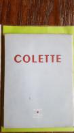 Colette, Sidonie-Gabrielle Colette, Franse Schrijfster - Auteurs Français