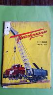 Fleischmann, Catalogus, 1959/60, Voorblad Los En Stuk Uit: Zie Foto's - Néerlandais