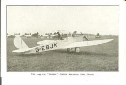 CPA  BRISTOL Brownie All Metal Monoplane  4646 - 1946-....: Moderne
