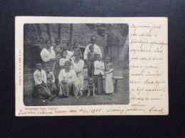 AK   CEYLON  SRI LANKA  COLOMBO  1902 - Sri Lanka (Ceylon)