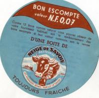 BON ESCOMPTE BOITE Neige De Savoie - Cheese