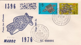 Morocco FDC 1976 Red Cross (SKO5-16) - Red Cross