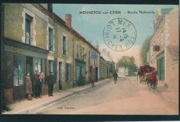 MENNETOU SUR CHER - Route Nationale - France