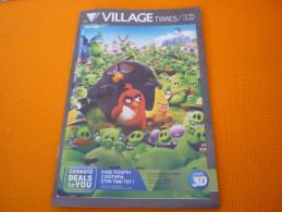The Angry Birds Movie Cinema Movie Program Programme From Greece - Programmes