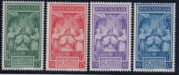 VATICANO 1939 - Yvert #86/89 - MNH ** - Vaticano (Ciudad Del)