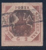 ITALIA  1858-  ESTADOS ANTIGUOS/NAPOLES -  Yvert#3 - Naples