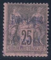 FRANCIA/PUERTO LAGOS 1893 - Yvert #4 - VFU - Puerto Lagos (1893-1931)