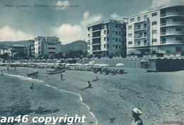 SPOTORNO-SAVONA-SPIAGGIA A LEVANTE-VIAGGIATA 1953-OTTIMA CONSERVAZIONE-VEDI OFFERTA SPECIALE- - Savona