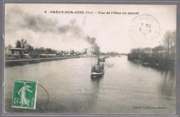 PRECY - SUR - OISE . Vue De L'Oise En Amont . - Précy-sur-Oise