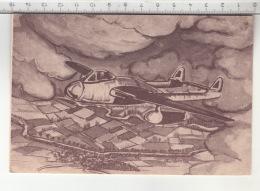 De Havilland Vampire - Coupe D'Europe De Voltige Aérienne - Aérodrome D'Épinal - Dogneville - 1946-....: Moderne