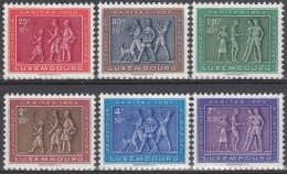 Luxemburgo 1953 Nº 476/81 Nuevo - Luxembourg