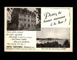 29 - BENODET - Hotel Keryomel - Carte Pub - Bénodet