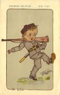 COLÉGIO MILITAR ...em 1920 - Na Infia... ( Infantaria ) - Colecção NUNES De CARVALHO - Portugal - 2 Scans - Militaria