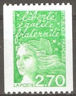 France - 1997 - Marianne De Luquet - YT 3100a Neuf Sans Charnière - MNH - 1997-04 Marianne Of July 14th