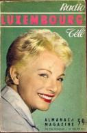Magazine  Radio Télé - Luxembourg Sélection N° 1 - 1962 - Televisie - - Livres, BD, Revues
