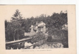 Cp , 42 , COTATAY , Les Premières Maisons - Francia