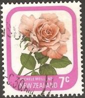 Nouvelle Zélande - 1975 - Michèle Meilland - YT  651 Oblitéré - Rose
