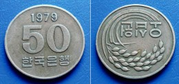 KOREA SOUTH 50 Won 1979 - FAO - Korea, South