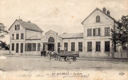 CPA LE BOURGET - LA GARE - Le Bourget