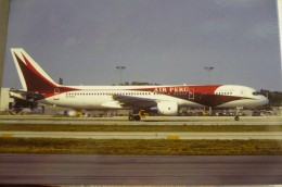 AER PERU / PRIMARIS  B 757 200   N741PA        Collection Vilain N° 947 - 1946-....: Moderne
