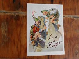 Munchenes Bildkunstverlog August Lengauer  Er A Der Preis - Humor